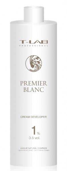 T-LAB PROFESSIONAL Крем-проявитель 1% 3,5 Vol / Premier Noir Cream developer 1000 мл
