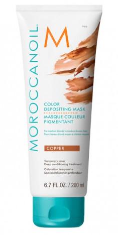 MOROCCANOIL Маска тонирующая для волос, медный / COLOR DEPOSITING MASK COPPER 200 мл