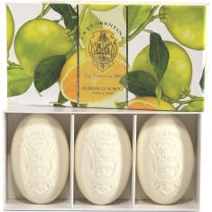 La Florentina мыло Цитрус набор 3шт по 150г