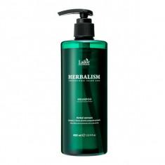 успокаивающий шампунь с травяными экстрактами против выпадения волос la'dor herbalism shampoo