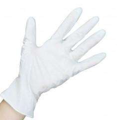 SAFE & CARE Перчатки латексные опудренные, размер L / Safe & Care 100 шт