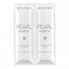 SELECTIVE PROFESSIONAL Набор для волос (шампунь 10 мл + бальзам 10 мл) PEARL SUBLIME ULTIMATE LUXURY