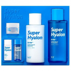 набор увлажняющих средств с 8 типами гиалуроновой кислоты vt cosmetics super hyalon skin care set
