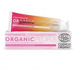 Organic people Зубная паста champagne splash органическая сертифицированная 85г