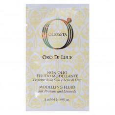 BAREX Флюид моделирующий с протеинами шелка и семенем льна / OLIOSETA ORO DI LUCE Modelling fluid 5 мл