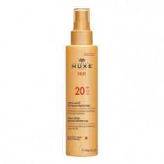 NUXE Молочко солнцезащитное для лица и тела / NUXE SUN SPF20 150 мл