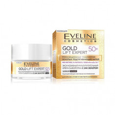 Eveline, Крем-сыворотка для лица Gold Lift Expert 50+, 50 мл