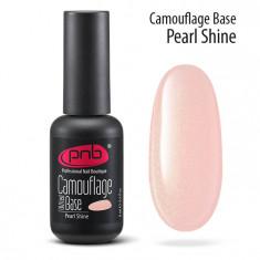 PNB База каучуковая камуфлирующая перламутровая / Camouflage Base PNB UV/LED, Pearl shine 17 мл