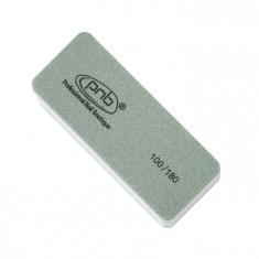PNB Баф-мини прямоугольный / Mini buff for nails Grey PNB 100/180