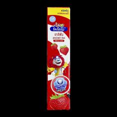 LION Thailand Kodomo паста зубная для детей с 6 месяцев с ароматом клубники, 40 г LIONE
