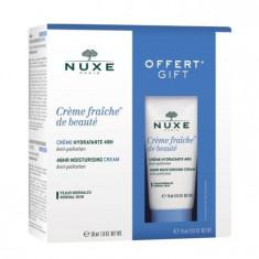NUXE Набор для нормальной кожи лица (крем 30 мл + 15 мл) Creme Fraiche De Beaute