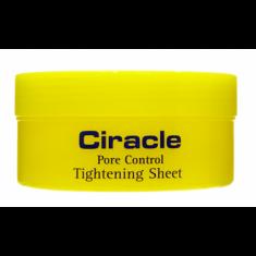маска для сужения пор ciracle pore control tightening sheet