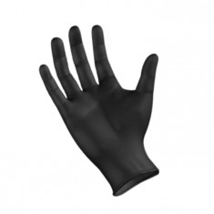 NITRILE Перчатки нитриловые, черные XL 100 шт