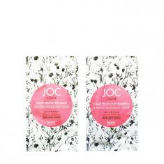 BAREX Набор для волос для стойкости цвета (шампунь 10 мл + маска 10 мл) JOC COLOR