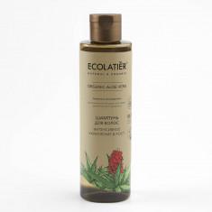 Ecolatier GREEN Шампунь для волос Интенсивное укрепление и рост Алое Вера 250мл
