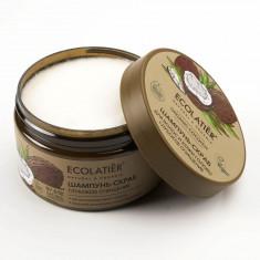 Ecolatier GREEN Шампунь-скраб для волос и кожи головы Глубокое очищение Кокос 300мл