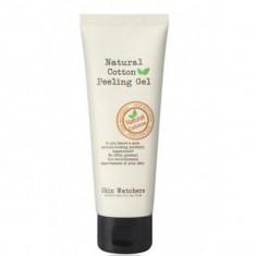 отшелушивающий гель-скатка для лица skin watchers natural cotton peeling gel
