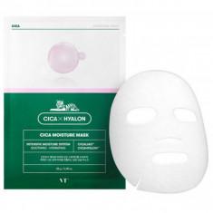 увлажняющая тканевая маска с центеллой vt cosmetics cica moisture mask