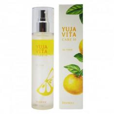 омолаживающий цитрусовый тонер deoproce yuja vita care 10 oil toner