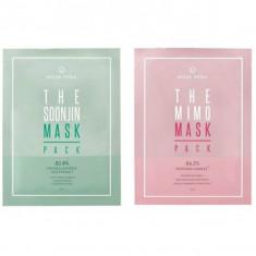 маска на тканевой основе deoproce muse vera mask pack