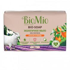 BioMio Bio-soap Мыло туалетное экологичное апельсин лаванда и мята 90г