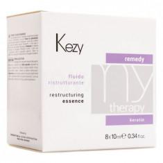 Kezy Restructuring essence Флюид реструктурирующий с кератином 8*10 мл