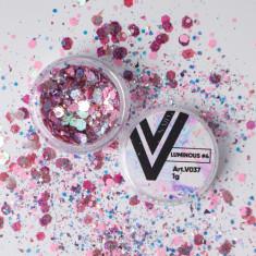 Vogue Nails, Блестки для ногтей Luminous №4