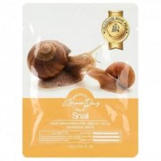 маска тканевая с муцином улитки grace day snail cellulose mask