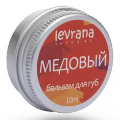 Levrana, Бальзам для губ «Медовый», 10 мл