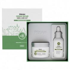 восстанавливающий набор для лица pekah derma repair skin care set