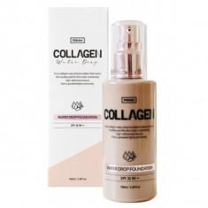 увлажняющая тональная основа с коллагеном pekah collagen water drop