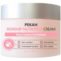 питательный крем с экстрактом шиповника pekah rosehip nutrishion cream