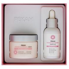 набор для лица питательный с экстрактом шиповника pekah rosehip nutrition skin care set