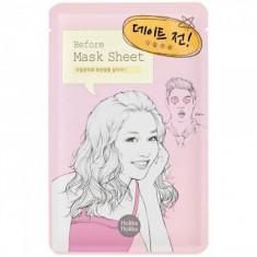 тканевая маска перед свиданием holika holika before mask sheet