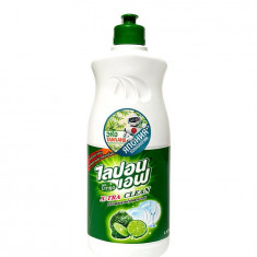 Lion Thailand Thailand Lipon Средство для мытья посуды Бергамот и Лайм 500мл
