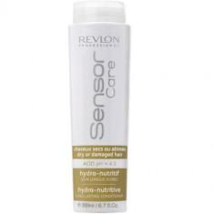 Revlon Sensor Care Hydro-Nutritive Питательный уход для сухих и поврежденных волос 200мл коричневый