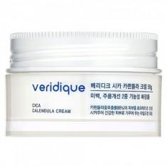 восстанавливающий крем с экстрактом календулы и центеллы азиатской veridique cica calendula cream