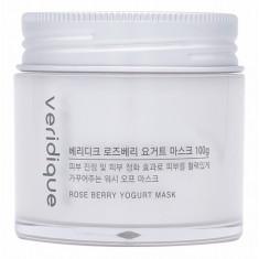 маска питательная восстанавливающая ягодный йогурт veridique rose berry yogurt mask