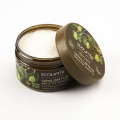 Ecolatier GREEN Скраб-пилинг для тела Мягкость и нежность Олива 300г