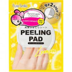 Sunsmile Peeling Pad Пилинг-диск для лица с экстрактом лимона 1 шт