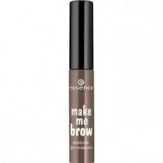 Essence Гелевая тушь для бровей Make Me Brow Eyebrow Gel Mascara темно-коричневый т.02