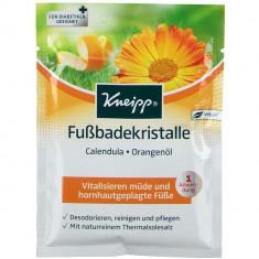 Kneipp Солевые ванны для ног с Календулой и маслом Апельсина Здоровые ноги 40г пакет