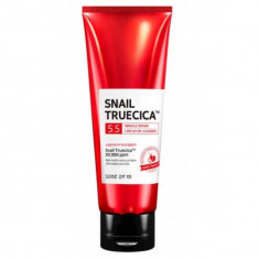 гель для умывания восстанавливающий с муцином улитки some by mi snail truecica miracle repaire low ph gel cleanser